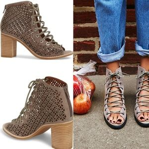 JEFFREY CAMPBELL Bess Mos Cors Cut Out Bootie